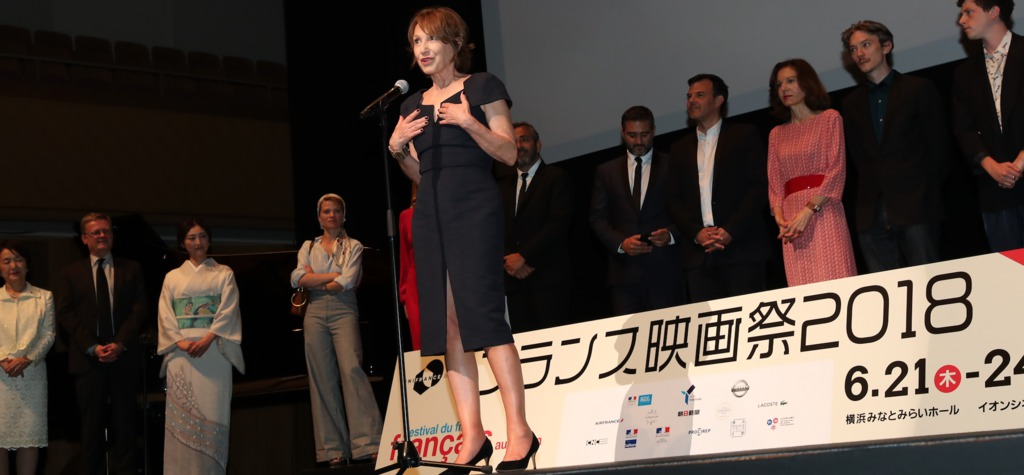 Nathalie Baye, patron of this year's festival