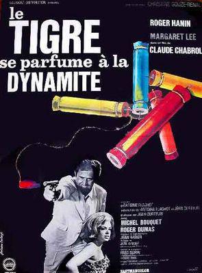 Le Tigre se parfume à la dynamite - Poster français
