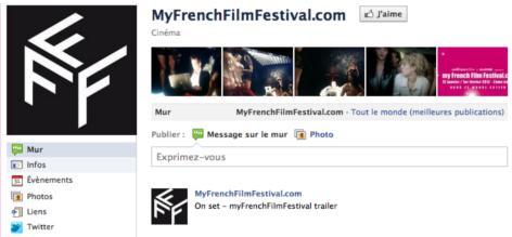 MyFrenchFilmFestival.com 2012 : Des fans, des jeux, des voyages