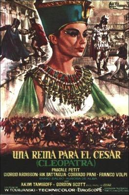 Cléopâtre, une reine pour César - Poster - Spain