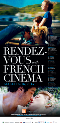 Rendez-Vous With French Cinema en Nueva York - 2014