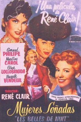 夜ごとの美女 - Poster Espagne