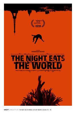 La Nuit a dévoré le monde - Poster - US