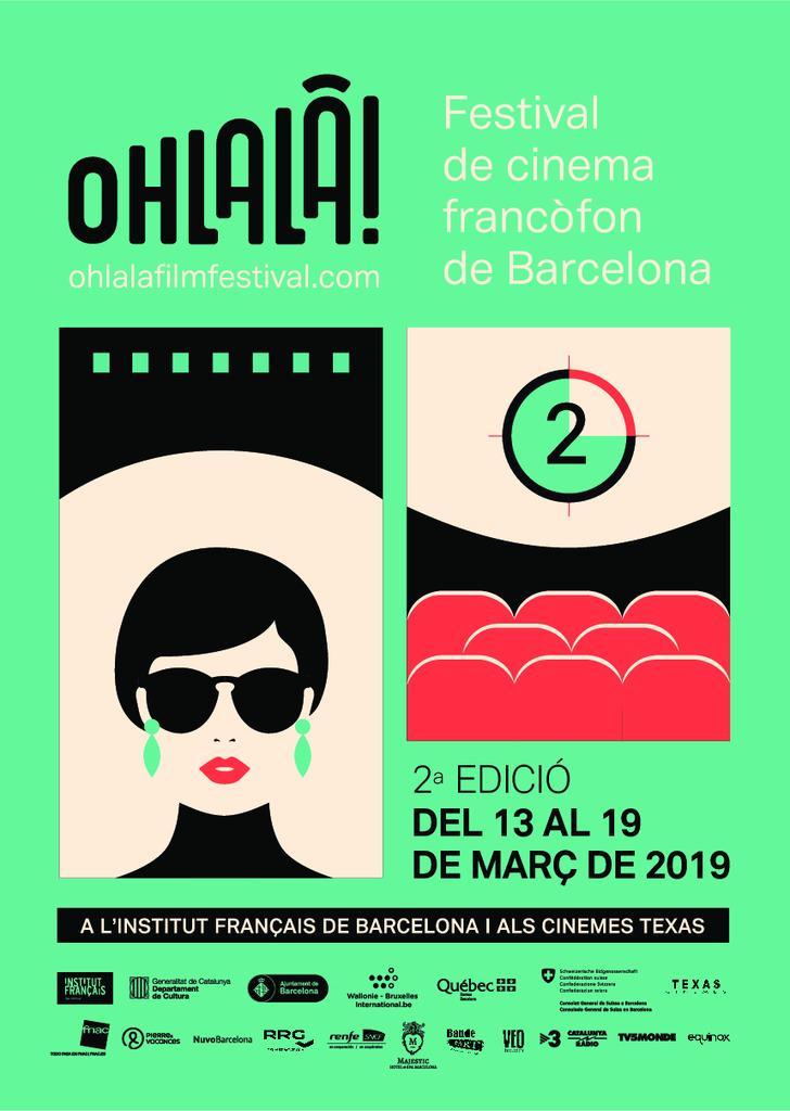 OHLALÀ! Festival de cinema francòfon de Barcelona