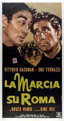 La Marche sur Rome - Poster Italie