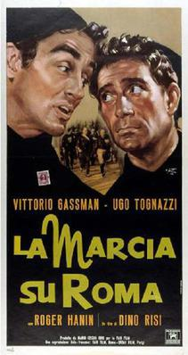 March on Rome - Poster Italie