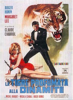 Le Tigre se parfume à la dynamite - Poster Italie
