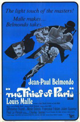 パリの大泥棒 - Affiche américaine