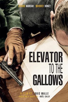 Ascenseur pour l'échafaud - Poster - EN