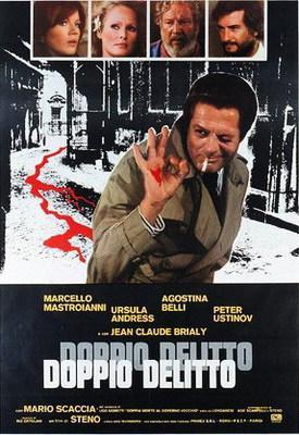 Double Murder - Poster Italie