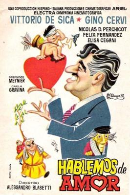 Hablemos de amor - Poster - Spain
