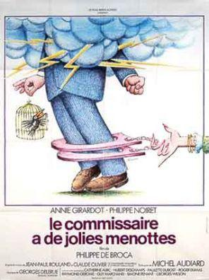 Mi querida comisario - Affiche française avec le premier titre