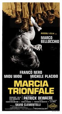 La Marche triomphale - Poster Italie
