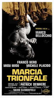 Marcha triunfal - Poster Italie