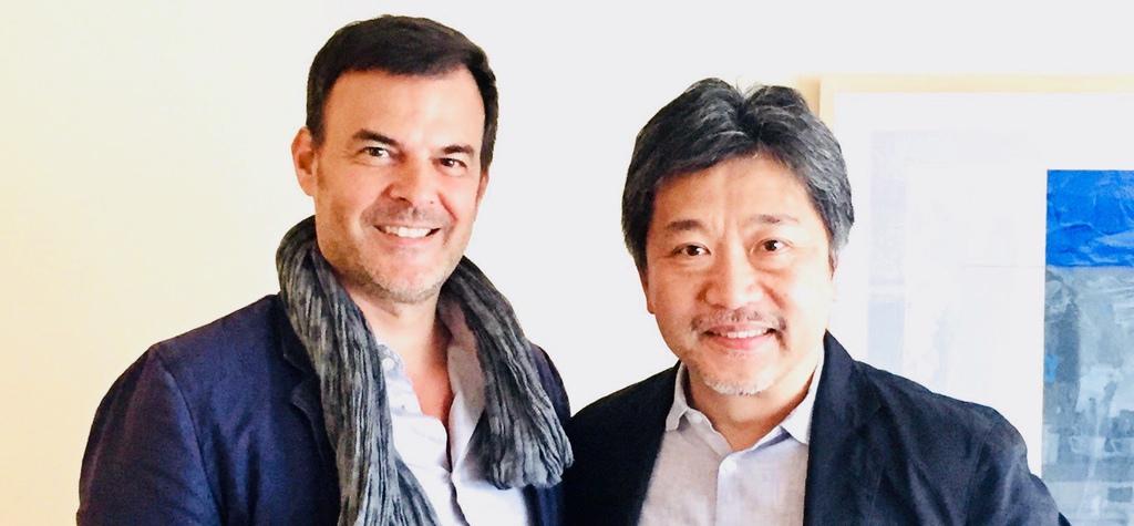François Ozon and Hirokazu Kore-eda