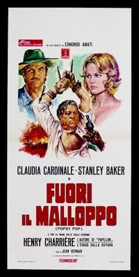 The Butterfly Affair - Poster - Italy