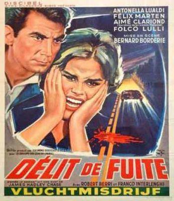 Délit de fuite - Poster Belgique