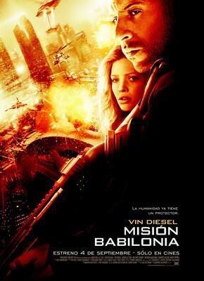 Babylon A.D. - Affiche Amérique Latine
