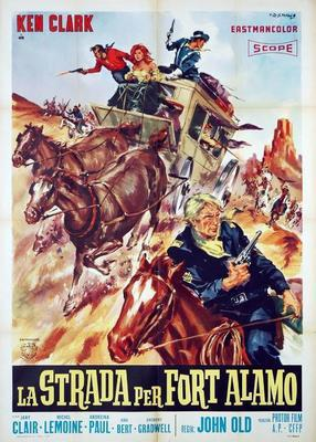The Road to Fort Alamo - Poster - Italy