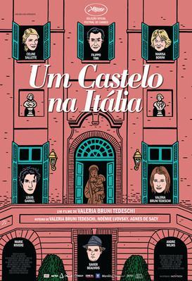 Un château en Italie - Poster - Brazil