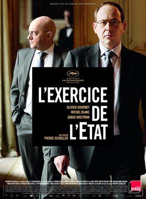L'Exercice de l'État - Poster - France