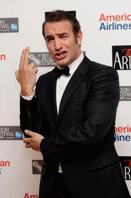 Bilan de la 55e édition du Festival du Film de Londres - Actor Jean Dujardin attends The Artist premiere
