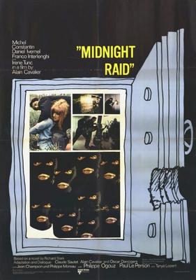 Pillaged / Midnight Raid - Affiche américaine