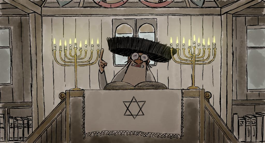Shlomo et le rabbin