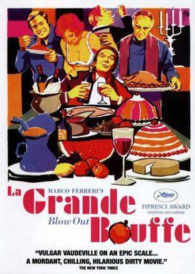 La Grande Bouffe - Poster DVD Royaume Uni