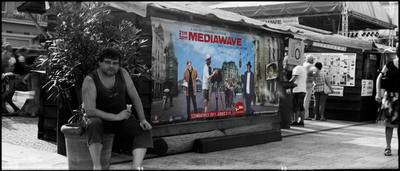 Mediawave - Encuentro internacional de Cine y Música de Fort Monostor - Komárom