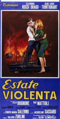Verano violento - Poster Italie