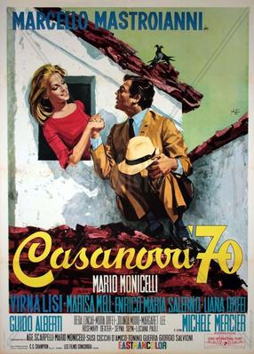 Casanova 70 - Poster Italie