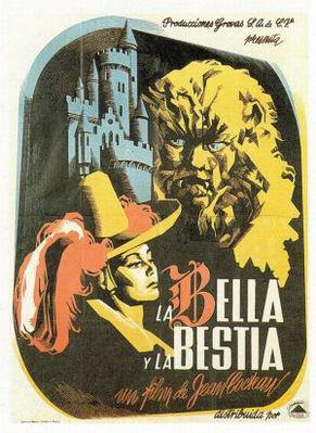 The Beauty and The Beast - Affiche Espagne
