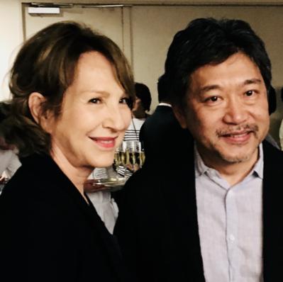 21 juin - Ouverture du 26e Festival du Film Français au Japon - Nathalie Baye et Hirokazu Kore-eda