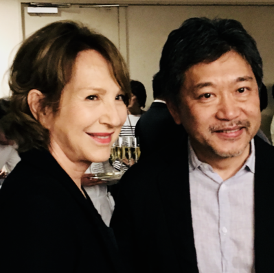 June 21: Opening of the 26th French Film Festival in Japan - Nathalie Baye et Hirokazu Kore-eda