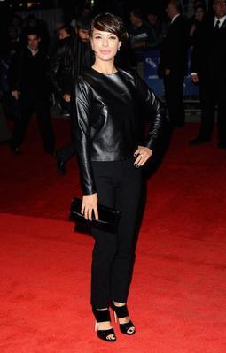 Bilan de la 55e édition du Festival du Film de Londres - Actor Berenice Bejo attends The Artist premiere