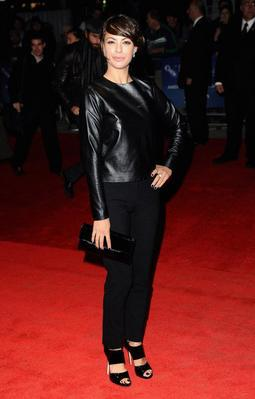 Report on the 55th BFI London Film Festival - Actor Berenice Bejo attends The Artist premiere