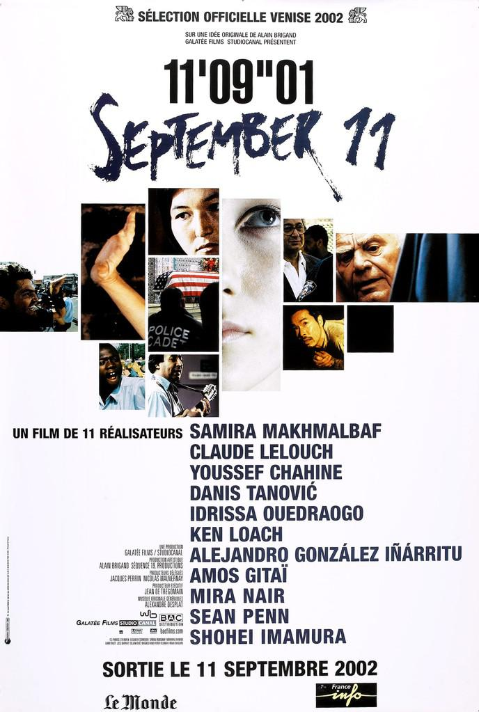 11'09''01                                     2001年9月11日