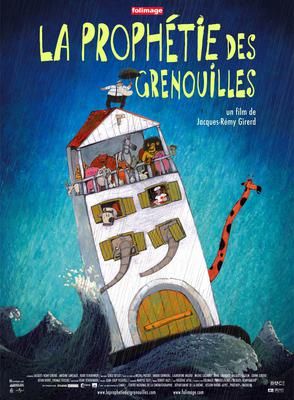 Prophetie des grenouilles / 仮題:かえるの予言 - Poster France
