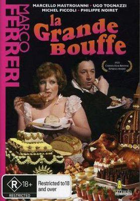La Gran comilona - Poster DVD Royaume Uni (2)