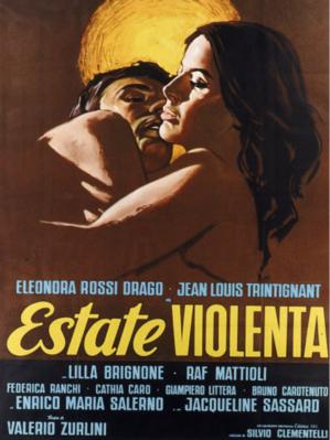 Eté violent - Poster Italie