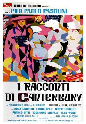 Les Contes de Canterbury - Poster - Italie