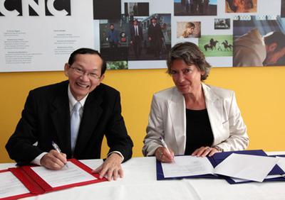 Bilan accords internationaux signés lors du festival de Cannes 2010 - © Cnc