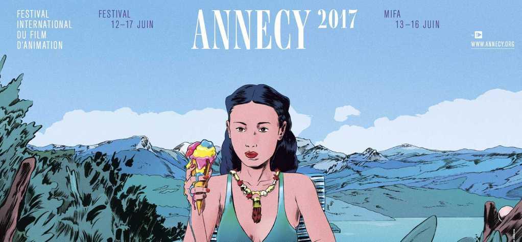 Le cinéma français et UniFrance au Festival d'Annecy 2017