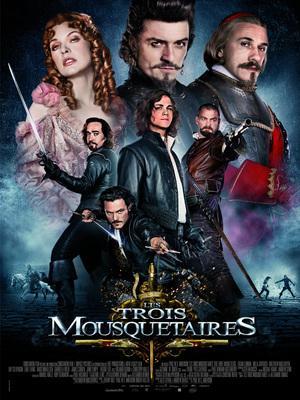 Les Trois Mousquetaires - Poster - France