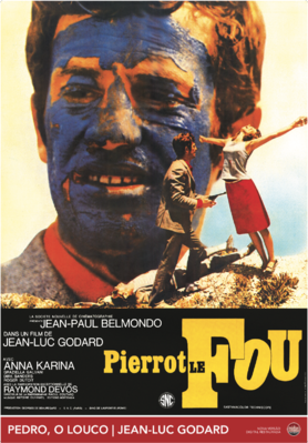 Pierrot le Fou - Poster - Portugal