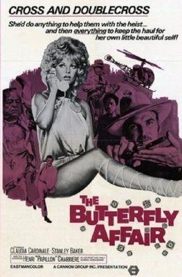 The Butterfly Affair - Poster - USA