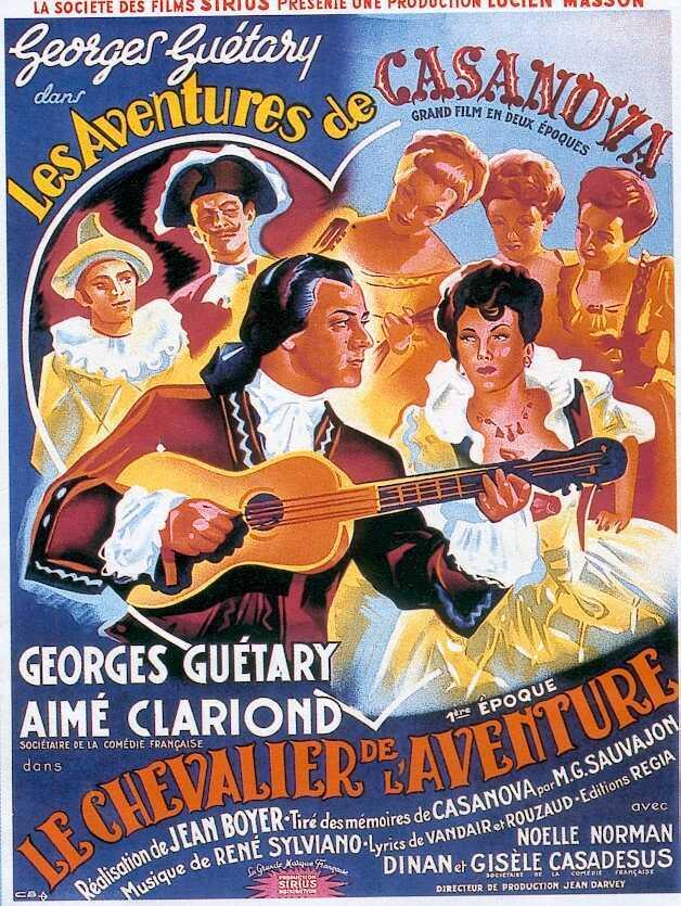 Les Aventures de Casanova - Première époque : Le Chevalier de l'aventure