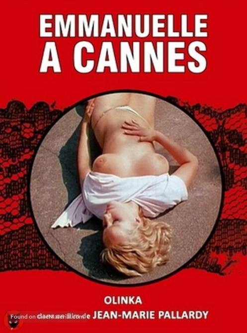Emmanuelle à Cannes - Jaquette DVD