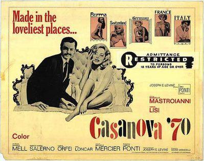 Casanova 70 - Poster Etats-Unis